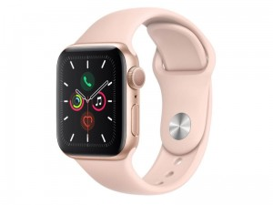 Apple Watch 5 40mm Aluminium Złoty/Różowy
