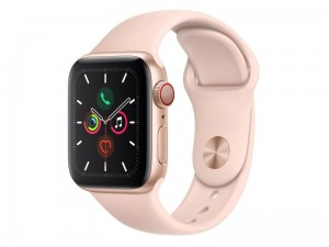 Apple Watch 5 40mm Aluminium Złoty/Różowy LTE